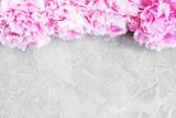 beautiful pink  peony flowers - 216618728