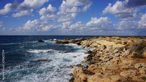 In de dag Cyprus Sea and cloud sky, Cyprus