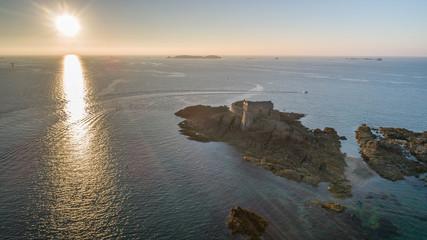 Drone : Fort du Petit Bé - Saint Malo © JEANPIERRE
