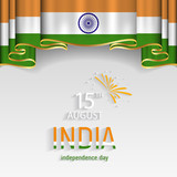 India national day vector. India independence day.