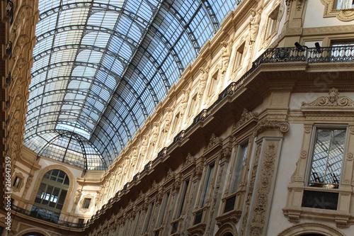 Plexiglas Milan Milan Shopping Center