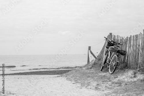 In de dag Schip vélo à la plage