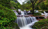 Tad-Wiman-Thip waterfall, Beautiful waterfall in Bung-Kan province, ThaiLand. - 216655778