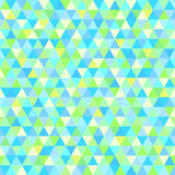 Seamless triangle pattern. Pretty colors. Abstract geometric wallpaper of the surface. Cute background. Print for polygraphy, posters, t-shirts and textiles. Beautiful texture. Doodle for design