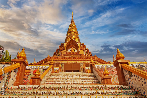 Plexiglas Thailand Beauty temple in Thailand Asia