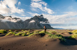 Photographer at Stokksnes, southern Iceland - 216689359