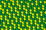green and yellow 3d squares background