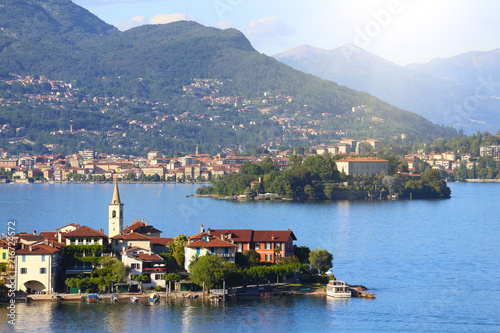 Leinwanddruck Bild Lago Maggiore