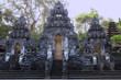 Leinwandbild Motiv Hindu Temple Pura Goa Lawah. Bali, Indonesia.