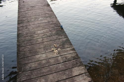 Aluminium Pier Dock on Lake DeSoto, Hot Springs Village, Arkansas (2016)