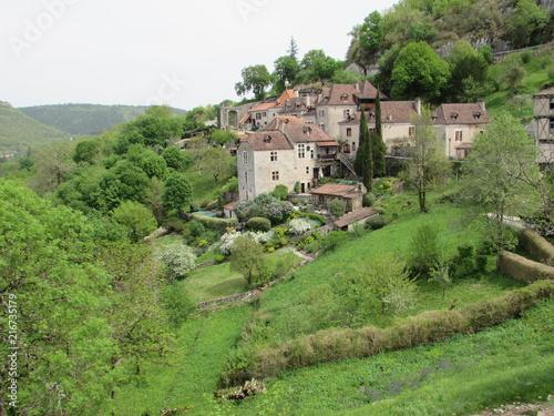 Canvas Pistache village