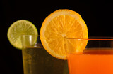 Orange and Lime Juices