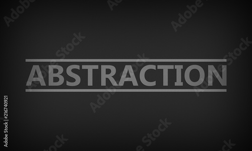 Abstraction - 216740921