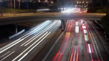 Timelapse of downtown traffic Los Angeles California - 216767501