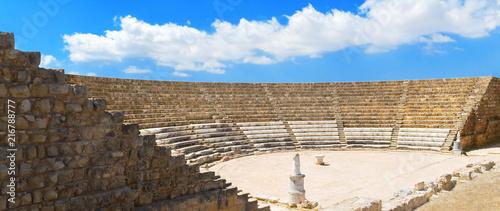 In de dag Cyprus The Theatre, Salamis, Cyprus