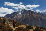 Nepal, the Himalayas, go to the Everest, Namche Bazar - 216793559
