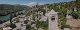 Počitelj is a fortified town from Ottoman period in Bosnia and Herzegovina. It is positioned within canyon of the river Neretva.