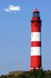 Leinwanddruck Bild - Leuchtturm auf Amrum