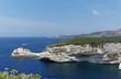 Quadro ligthouse and fjord of Bonifacio in Corsica island