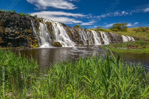 Hopkins Falls Victoria Australia - 216827391