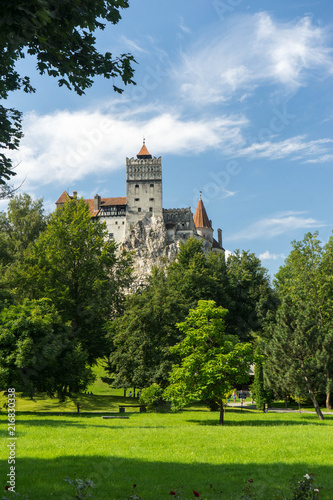Bran Castle, known as The Castle of Dracula, in Bran, Transylvania, Romania