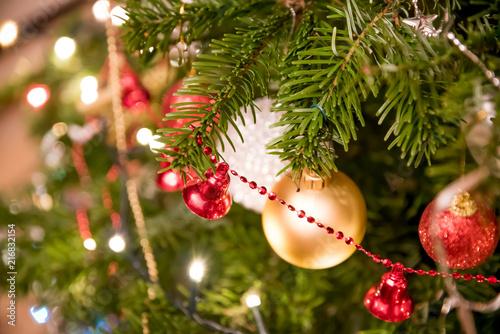 Foto Murales Christmas tree decorations