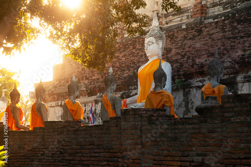 Fotobehang Boeddha Ayutthaya