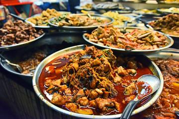 Chinese street food sold in Bangkok Chinatown