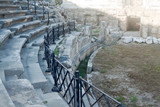 Ancient amphitheater in Side, Turkey