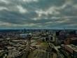 Aerial photo of Birmingham city Uk - 216842931