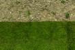 Leinwandbild Motiv Rollrasen