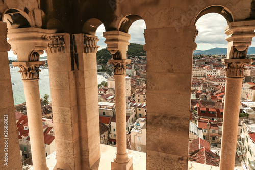 Split miasto w Chorwacji.