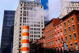 NYC Buildings and Smoke Stack