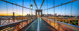 Brooklyn Bridge Panorama, New York City, USA