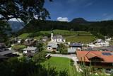 Ramsau ,Bayern, Deutschland - Juli 29, 2018 : Alpenidylle rund um Ramsau.