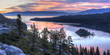 Emerald Bay Sunrise Panorama