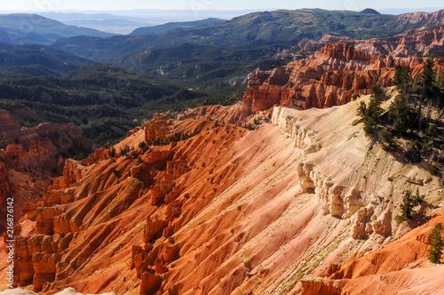 Foto Spatwand Baksteen Bryce Canyon lands