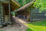 The medieval rural yard