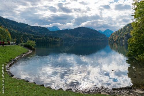 Foto Spatwand Zomer Lago Aleman