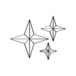 Isolated star shape icon - 216888347