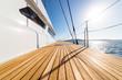 Leinwanddruck Bild - pont de catamaran