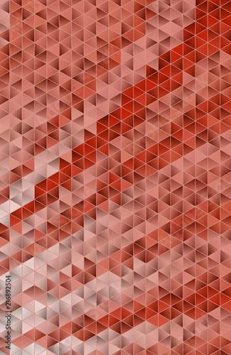 Triangular 3d, modern background - 216892504