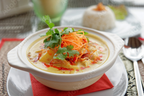 Foto Murales Hot curry dish