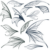 Set of vector filigree fairy wings for design - 216902726