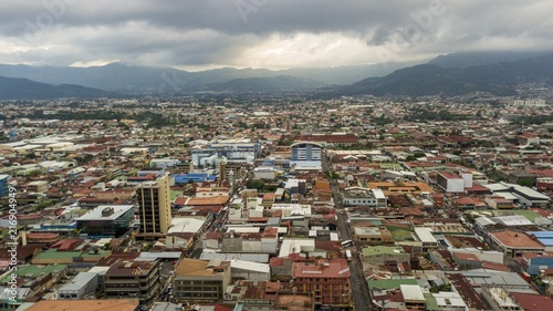 Beautiful aerial view go the San Jose Cathedral in Costa Rica - 216904949