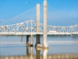 Lewis and Clark bridge, Louisville, Kentucky, America infrastructure transportation