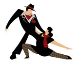 beautiful tango dancers - 216914939