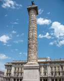 Tower and Statue in Rome