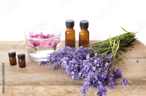 lavender and essential oils - 216934999