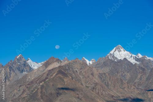 Aluminium Blauwe jeans Beautiful Landscape of Padum valley in Karsha village at Zanskar, Ladakh, India.